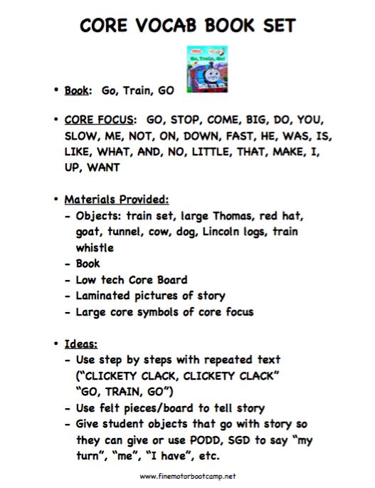 Core Book Adaptations